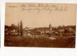 54-2199 CONFLANS Cachet De L´Hôpital De LABRY - Autres Communes