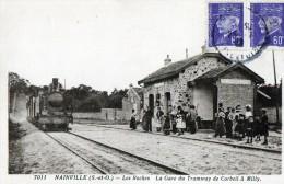 NAINVILLE - Les Roches - La Gare Du Tramway De Corbeil à Milly - Frankrijk