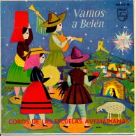 """ Vamos A Belén, Villancicos Españoles.... "" Disque Vinyle 45 Tours - Weihnachtslieder"