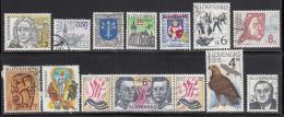Slovakia 11 Different Stamps - Used - Timbres