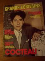 GRANDS ECRIVAINS N°11  COCTEAU Grande Revue De 15 Pages - History