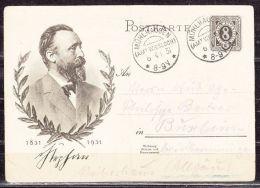 P 211 Stephan, KOS Muehlhausen Amt Wiesloch, Nach Buxheim 1931 (43379) - Marcofilia - EMA ( Maquina De Huellas A Franquear)