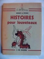 Scoutisme / Scouts De France / Livre ''Histoires Pour Louveteaux'' - Gurney Et Power - Scoutisme