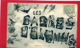 LES SABLES D OLONNE 1902 SOUVENIR CARTE EN BON ETAT - Sables D'Olonne