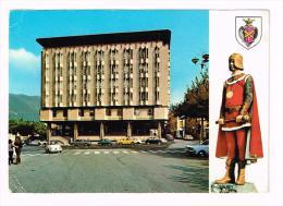 M690 Massa - Nuovo Palazzo Comunale - Auto Cars Voitures / Viaggiata 1974 - Massa