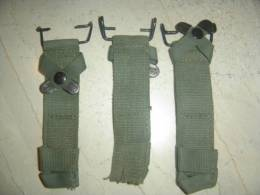 3 X UNKNOWN BAYONET BAIONETTE WEB FROGS - Armes Blanches