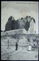 Cpa BOUTIERS ST TROJAN 16 Eglise St Marmet - Environs De COGNAC - Animée, Rails - Autres Communes