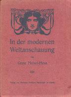Grete Meisel Hess, - In Der Modernen Weltanschauung - Grafismo & Diseño