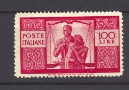 Italie  -  1945  :  Yv  503  **  Dentelé 14 X 13 1/2 - Nuovi