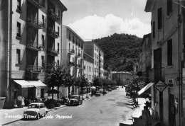 BOLOGNA-PORRETTA TERME-VIALE MAZZINI-AUTO D'EPOCA - Bologna
