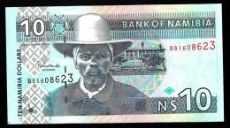 NAMIBIA  : Banconota 10  Dollars  - 2001- P4 - FDS - Namibia