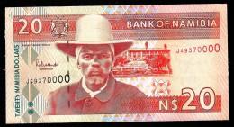 NAMIBIA  : Banconota 20  Dollars  - 2002 - P6 - FDS - Namibia