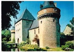 Carte Postale Solre-Sur-Sambre - Château Féodal (XIIème Siècle) La Tour Et L'Entrée - Erquelinnes