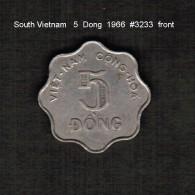SOUTH VIETNAM    5  DONG  1966  (KM # 9) - Vietnam