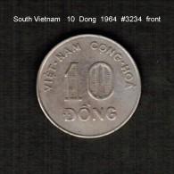 SOUTH VIETNAM    10  DONG  1964  (KM # 8) - Viêt-Nam