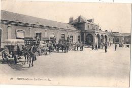 MOULINS  La Gare - Et Calleches - TTB - Moulins