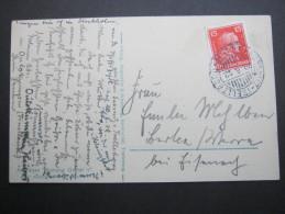 1928, Schiffstempel Auf Karte Des Sxchiffes - Germany