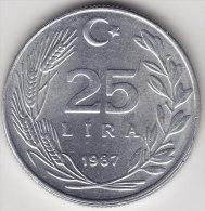 @Y@    Turkije   25 Lira  1987      (2497) - Turkije