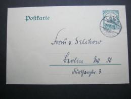 1909, LOME, Karte Nach Berlin, Rs. Viel Text - Colony: Togo