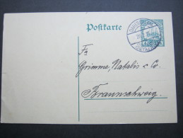 1914, Karte Aus DARESSALAM,   Rs. Viel Text - Colony: German East Africa