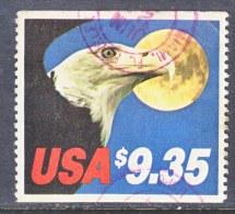 U.S. 1909a   (o)  EAGLE And MOON - United States