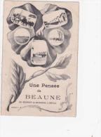 Pensée De Beaune - Rgt Chasseur à Cheval ... Armée Française - Beaune