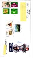 CINA R.P. 2005 - Lettera  Per La Lituania Con Integrazione Di Francobolli - 1949 - ... Repubblica Popolare