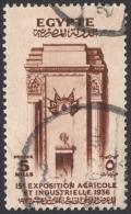 Egypt, 5 M. 1936, Sc # 198, Used - Egypt
