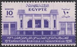 Egypt, 10 M. 1936, Sc # 199, MH - Égypte