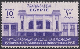 Egypt, 10 M. 1936, Sc # 199, MH - Egypt