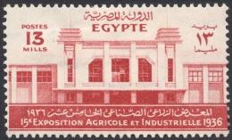 Egypt, 13 M. 1936, Sc # 200, MH - Égypte