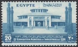 Egypt, 20 M. 1936, Sc # 202, MH - Egypt