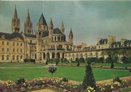 Caen (14)Abbaye Aux Hommes. Abside De L'église St-Etienne Et Jardins De La Mairie. - Caen