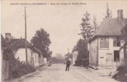 51 _ SAINT - OUEN Et DOMPROT  _  Rue Du  Camp  De  Saint - Ouen   _ - France