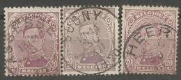 140 X 3  Obl  Assesse  Sugny  Heer - 1915-1920 Albert I