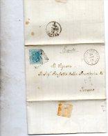 1868  LETTERA CON ANNULLO CIVITELLA DEL TRONTO TERAMO - 1861-78 Vittorio Emanuele II