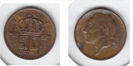 50 CENTIMES Bronze Baudouin 1964 FL - 03. 50 Centesimi