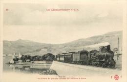06 - Un Train à Grande Vitesse Sur La Côte D'Azur - Compagie P.L.M.  édit; F.F. N° 35 - CPA En Très Bel Etat (2 Scans) - Non Classés