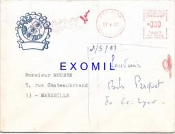Vespa Rare Enveloppe 1967 Vespa Club - Vecchi Documenti