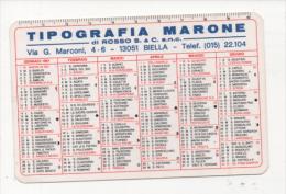 Alt432 Calendario Tascabile, Pocket Calendar, Calendrier De Poche, 1991 - Calendari