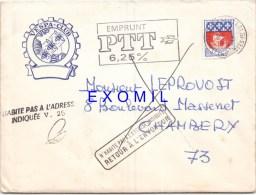 Vespa Rare Enveloppe 1967 Vespa Club Marseille Provence - Vecchi Documenti