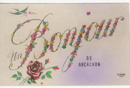 CP Un Bonjour De Arcachon - Arcachon
