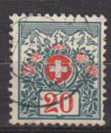 PGL BW0743 - SUISSE SWITZERLAND TAXE Yv N°47 - Taxe