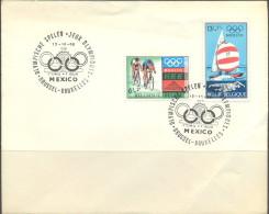 PK12- OLYMPISCHE SPELEN MEXICO                1e DAG - Zomer 1968: Mexico-City