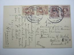 SIAM, 1911, Karte Aus Bangkok  Nach Deutschland - Siam