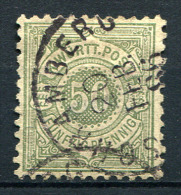 16271) WÜRTTEMBERG # 51 Gestempelt GEPRÜFT Aus 1878, 8.- € - Wuerttemberg