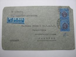HONGKNG,  1935 , Brief Nach Deutschland - Covers & Documents