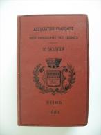 Association Française Pour L'Avancement Des Sciences, 9éme Session Reims 1880 - Pages 1321 + Croquis - Livres, BD, Revues