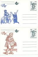 6 Cartes Postales Neuves Illustrées Belgica 82 - Série Complète Impeccable CA 28/33 - COB 75 EUR   --  C1/784 - Ganzsachen