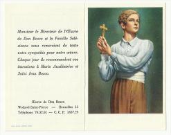 - CALENDRIER  DON BOSCO  1960 - Calendriers